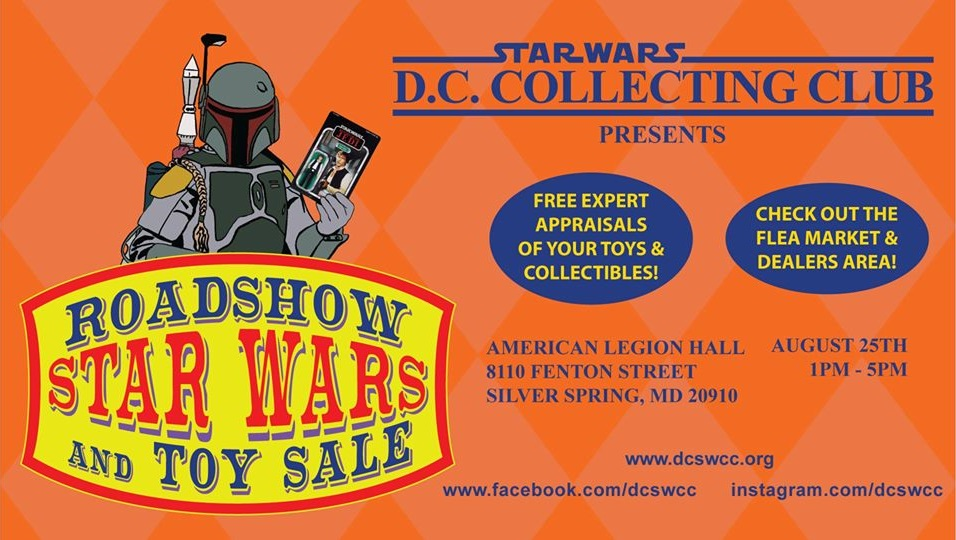 Star Wars Roadshow and Toy Sale - Silver Spring, MD @ American Legion Hall